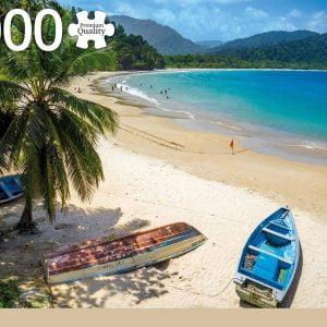 Trinidad & Tobago 1000 Piece Jigsaw Puzzle - Jumbo