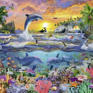 Tropical Paradise 100XXL Piece Jigsaw Puzzle - Ravensburger