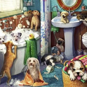 Tub Time 200XXL Piece Jigsaw Puzzle - Ravensburger