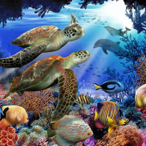 Underwater Fantasy 500 Piece Jigsaw Puzzle - Sunsout
