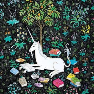Unicorn Reading 500 Piece Family Jigsaw Puzzle - Mudpuppy