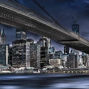 Voss - New York, Dark Night 1000 Piece Jigsaw Puzzle - Schmidt