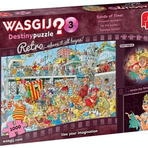 Wasgij Destiny Retro 3 - Sands of Time 1000 Piece Jigsaw Puzzle - Jumbo