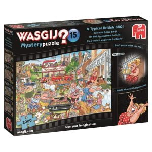 Wasgij Mystery Puzzle 15 - A Typical British BBQ 1000 Piece Jigsaw Puzzle - Holdson