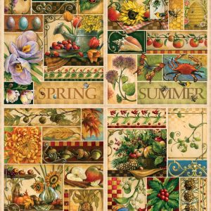 Four Seasons 2000 Piece Jigsaw Puzzle - Cobble Hill