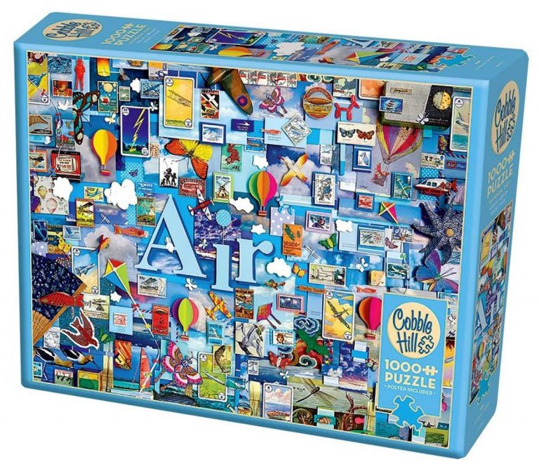 Air 1000 Piece Jigsaw Puzzle (The Elements Collection ...