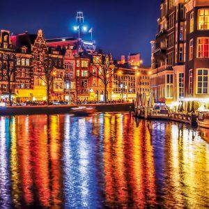 Amsterdam 500 Piece Jigsaw Puzzle - Clementoni