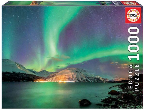 Aurora Borealis 1000 Piece Jigsaw Puzzle - Educa