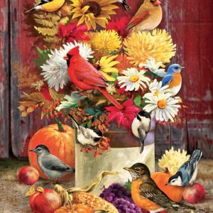 Autumn Bouquet 1000 Piece Jigsaw Puzzle - Cobble Hill