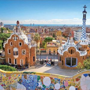 Barcelona, View from Park Guell 1000 Piece Jigsaw Puzzle - Educa
