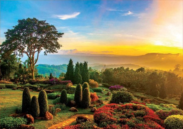 Beautiful Garden 1000 Piece Jigsaw Puzzle - Educa