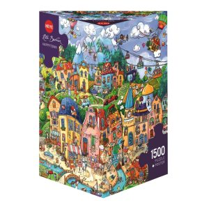 Berman - Happytown 1500 Piece Jigsaw Puzzle - Heye