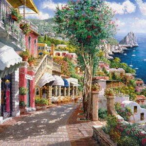 Capri 1000 Piece Jigsaw Puzzle - Clementoni