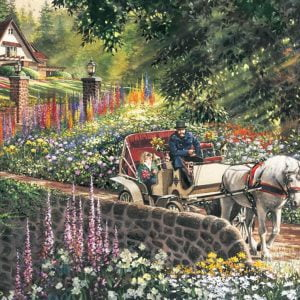 Carriage Ride 275 Large Piece Jigsaw Puzzle - Cobble Hill