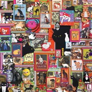 Catsville 1000 Piece Jigsaw Puzzle - Cobble Hill
