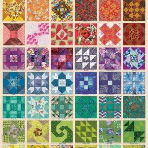 Common Quilt Block Patterns 1000 Piece Jigsaw Puzzle - Cobble Hill