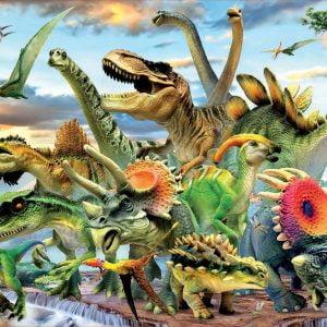 Dinosaurs 500 Piece Jigsaw Puzzle - Educa