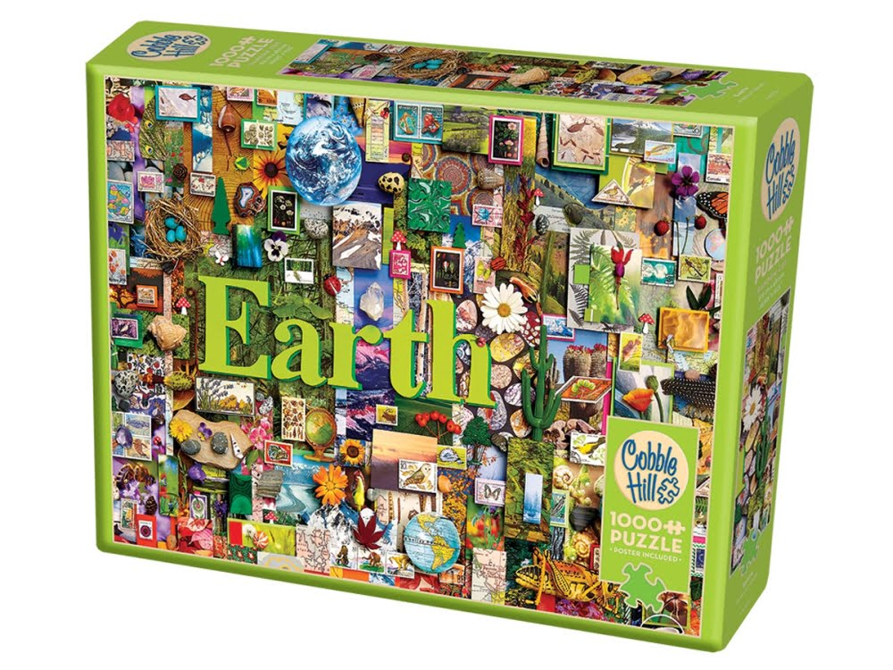 Earth 1000 Piece Jigsaw Puzzle (The Elements Collection ...