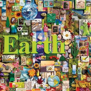 Earth 1000 Piece Jigsaw Puzzle - Cobble Hill