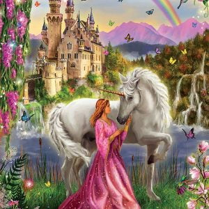 Fairy and Unicorn 500 Piece Jigsaw Puzzle - Educa