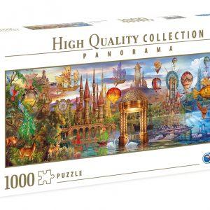 Fantasy Panoramic 1000 Piece Jigsaw Puzzle - Clementoni