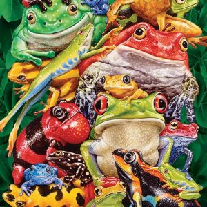 Frog Business 1000 Piece Jigsaw Puzzle - Cobble Hill