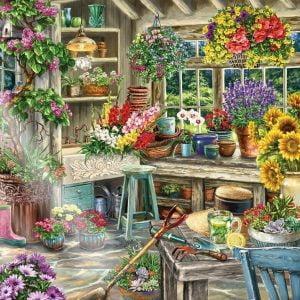 Gardener's Paradise 2000 Piece Jigsaw Puzzle - Ravensburger