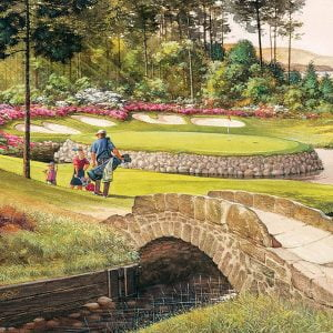 Golf Course 275 Large Piece Jigsaw Puzzle - Cobble Hill