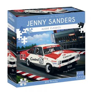 Jenny Sanders - A9X Brocky 1000 Piece Jigsaw Puzzle - Blue Opal