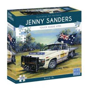 Jenny Sanders - Aussie As 1000 Piece Jigsaw Puzzle - Blue Opal