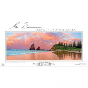 Ken Duncan - Glasshouse Rocks, Narooma, NSW 748 Piece Jigsaw Puzzle