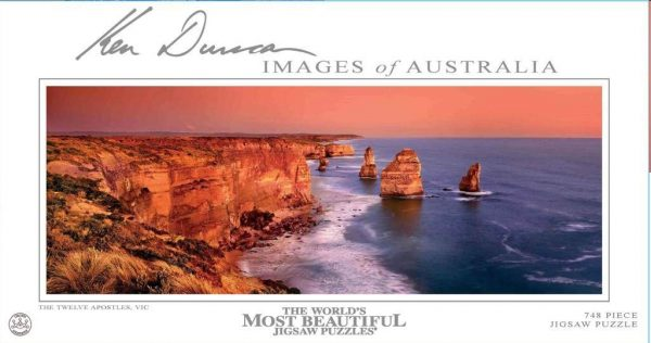 Ken Duncan - The Twelve Apostles, VIC 748 Piece Jigsaw Puzzle - the World's Most Beautiful