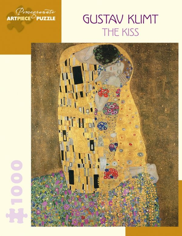 Klimt - The Kiss 1000 Piece Jigsaw Puzzle - Pomegranate
