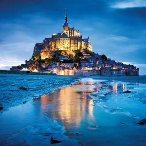 Le Mont Saint Michel 1500 Piece Jigsaw Puzzle - Clementoni