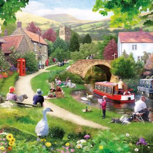 Life in the Slow Lane 1000 Piece Jigsaw Puzzle - Gibsons