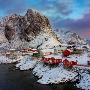 Lofoten Islands Norway 1500 Piece Jigsaw Puzzle - Educa