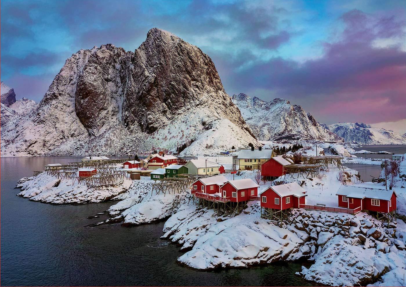 LOFOTEN ISLANDS NORWAY 1500 PIECE JIGSAW PUZZLE - EDUCA