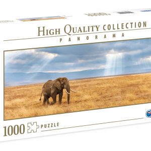 Lost Panoramic 1000 Piece Jigsaw Puzzle - Clementoni