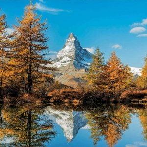 Matterhorn Mountain in Autumn 1000 Piece Jigsaw Puzzle - Educa