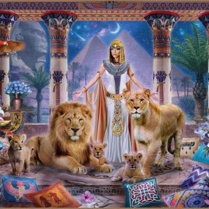 Mistress of the Pridelands - Egyptian Princess 1000 Piece Jigsaw Puzzle - Holdson
