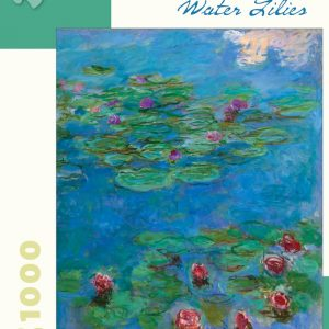 Monet - Water Lilies 1000 Piece Jigsaw Puzzle - Pomegranate