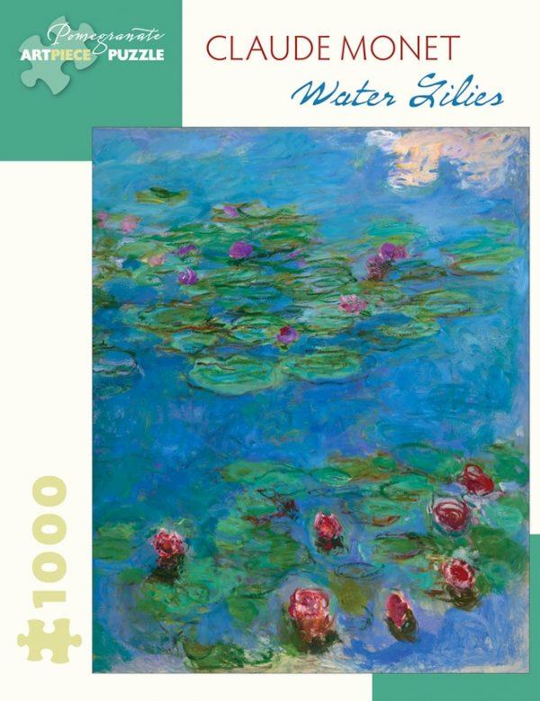 Monet - Water Lilies 1000 Piece Jigsaw Puzzle - Pomegranate