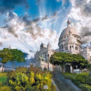 Montmartre 1000 Piece Jigsaw Puzzle - Clementoni