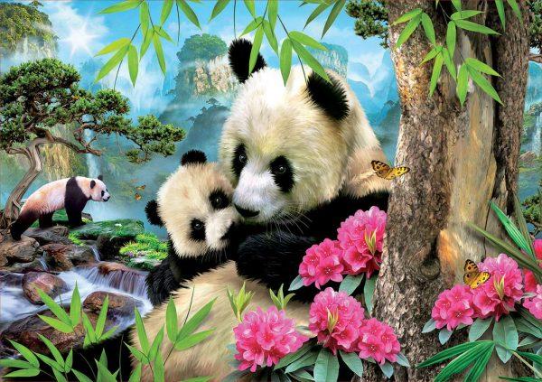 Morning Panda 1000 Piece Jigsaw Puzzle - Educa