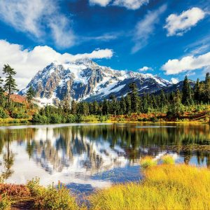 Mount Shuksan, Washington USA 3000 Piece Jigsaw Puzzle - Educa
