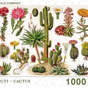 New York Puzzle Company - Cacti - Cactus 1000 Piece Jigsaw Puzzle