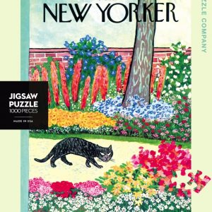 New York Puzzle Company - Cat on the Prowl 1000 Piece Jigsaw Puzzle