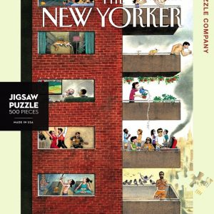 New York Puzzle Company - City Living 500 Piece Jigsaw Puzzle