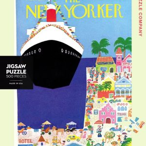 New York Puzzle Company - Cruise Ship 500 Piece Jigsaw Puzzle