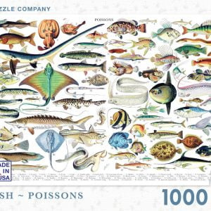 New York Puzzle Company - Fish - Poissons 1000 Piece Jigsaw Puzzle